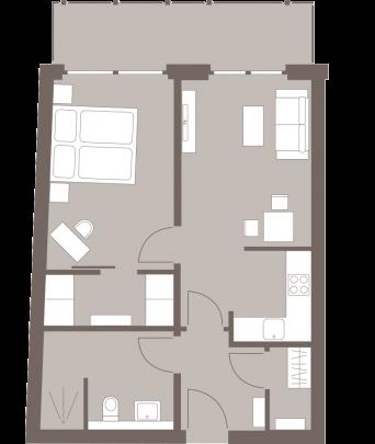 Weisse Villa Grundriss 5408nord