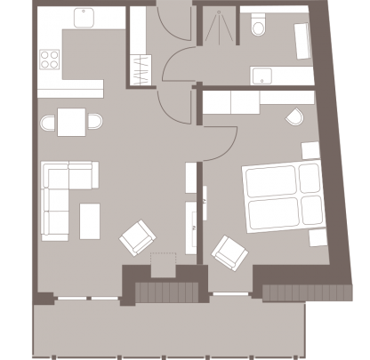 Weisse Villa Grundriss Hafenkante